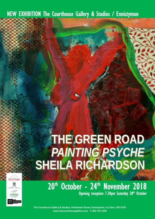 Sheila Richardson / The Green Road - Painting Psyche